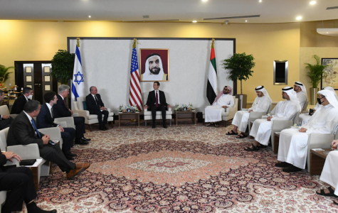 A meeting between representatives from Israel, the UAE, and the