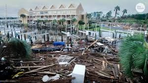 Picture from the USA Today shows damage in Orange Beach, Alabama from Hurricane Sally.