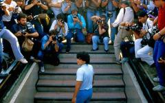 Navigation to Story: Passing of Soccer Legend Diego Maradona