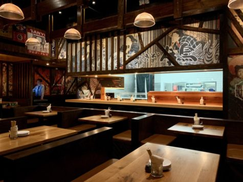 A look inside Toukei Izakaya. Photo by Eric Sandler.