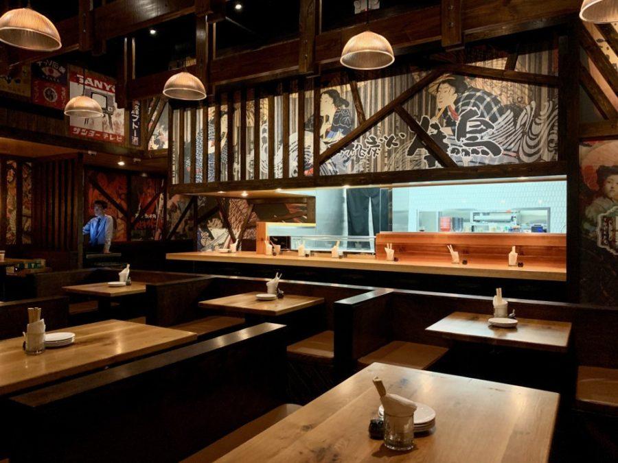 A look inside Toukei Izakaya. Photo by Eric Sandler.